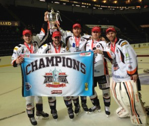 Steelers Play-off Champions 2014