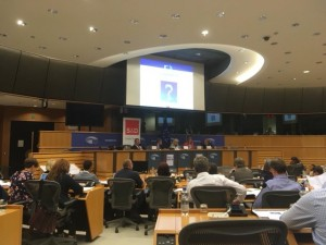 Dr Colin Williams European Parliament